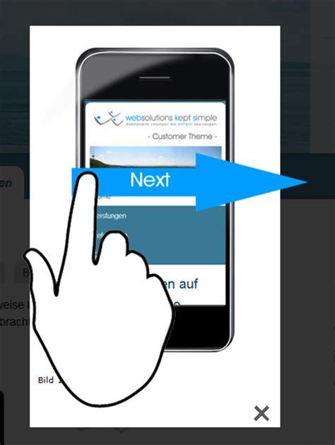 lightbox mobile lightbox2 swipe gestures support drupal org