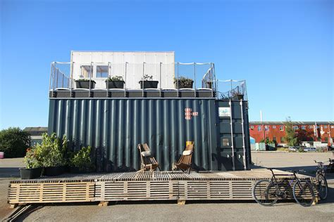 Tiney Plans container village by cph containers