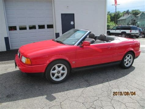 how cars work for dummies 1996 audi cabriolet windshield wipe control sell used 1996 audi cabriolet base convertible 2 door 2 8l in wolcott connecticut united states