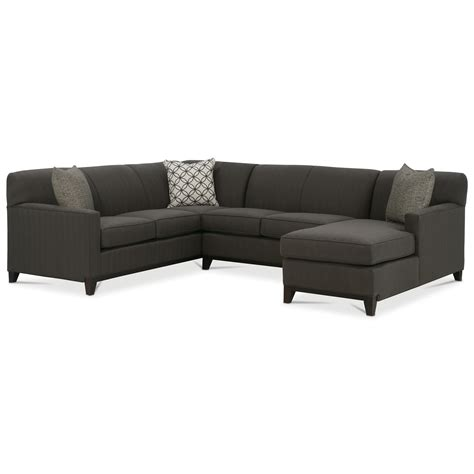 Rowe Martin 3 Piece Sectional Sofa Saugerties Furniture Rowe Martin Sofa