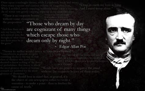 ea poe quotes insanity quotesgram