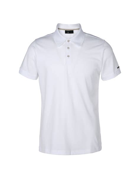 Polo Shirt Adidas White porsche design sport by adidas polo shirt in white for lyst