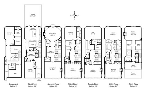 townhouse floor plan my mint green house if i bought this fab townhouse in manhattan
