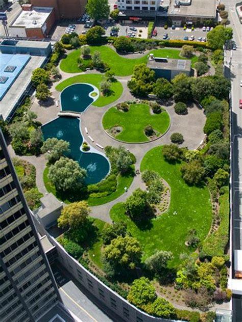 Garden Oakland by Kaiser Center Roof Garden The Cultural Landscape Foundation