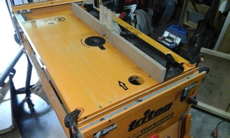 how to fit triton series 2000 router table to triton