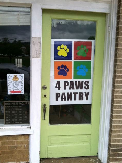 4 paws pantry provides food for cats and dogs in need