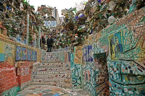 Mosaic Garden Philly by Lets Talk Mosaics Zagar Gaudi A For F R Iend
