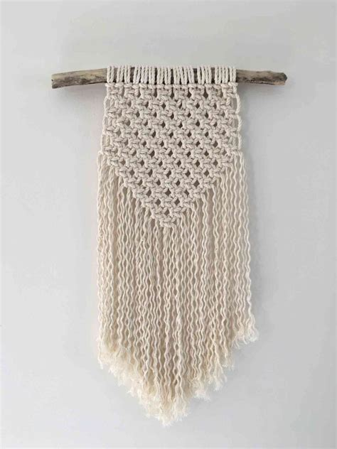 How To Do Macrame - how to diy a macrame wall hanging realestate au