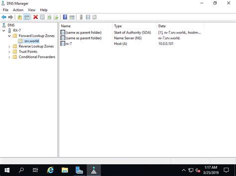windows server  dns server  lookup zone