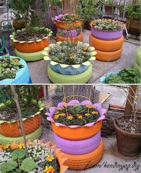 tire flower beds tire flower beds and raised gardens flowerbeds pinterest