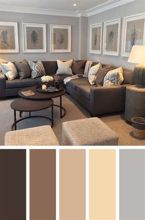 livingroom color schemes color palettes for living room peenmedia com