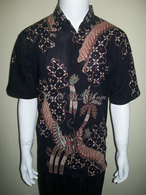 Kemeja Hem Asia Abstrak kemeja batik elegan hem batik tulis ld127t toko batik 2018