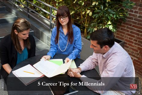 Resume Tips For Millennials by 5 Career Tips For Millennials Vincentbenjamin
