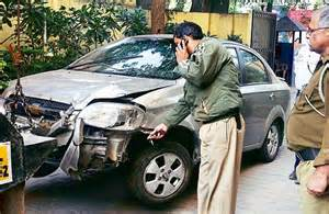 ipc section for drunk driving drunk pub manager drives car over five policemen and