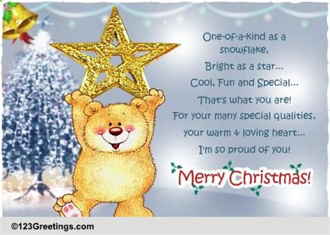 proud   merry christmas  family ecards greeting cards