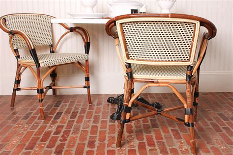 Homes With Porches Parisian Caf 233 Inspired French Bistro Chairs Idesignarch