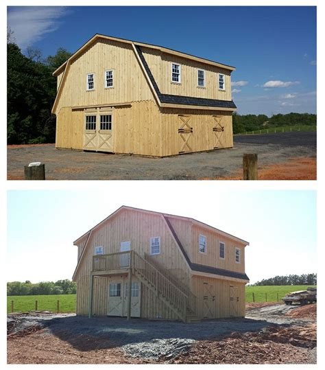prefab garages with living quarters pin by horizon structures on horse barns pinterest