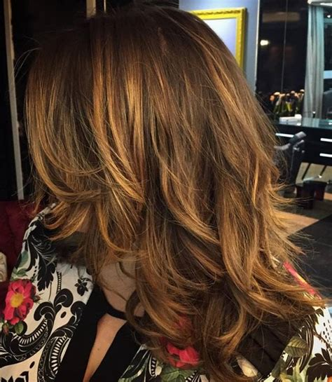 how to balayage med layered dark brown 80 cute layered hairstyles and cuts for long hair in 2018