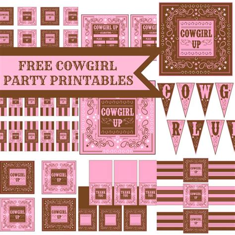 Printable Horse Birthday Decorations | free printable stuff for horse party themed party