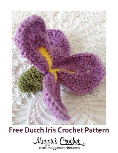 iris pattern types dutch iris free crochet pattern from maggie s crochet