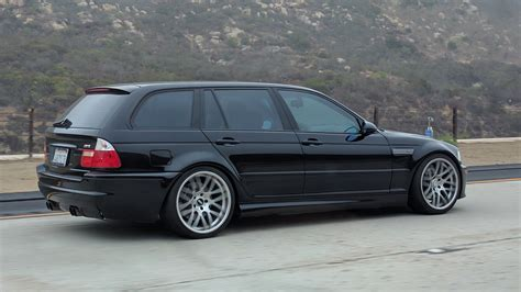 Bmw E46 Touring Tieferlegen spotted this e46 m3 touring today accelerate