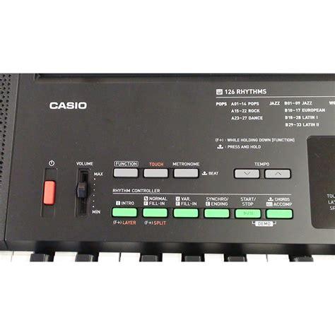 Casio Standard Keyboard Ctk 3400 casio ctk 3400 portable keyboard at gear4music