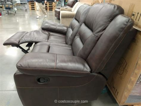 pulaski leather reclining sofa loveseat recliner costco full image for impressive