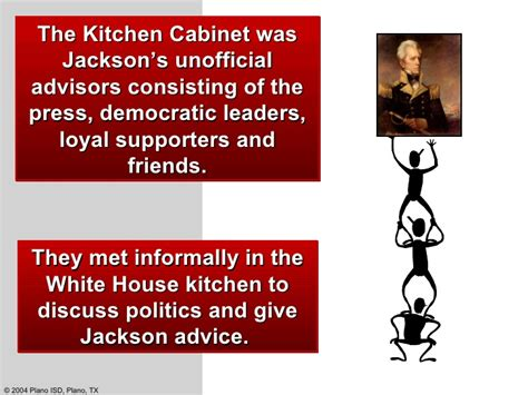 kitchen cabinet politics old hickory andrew jackson