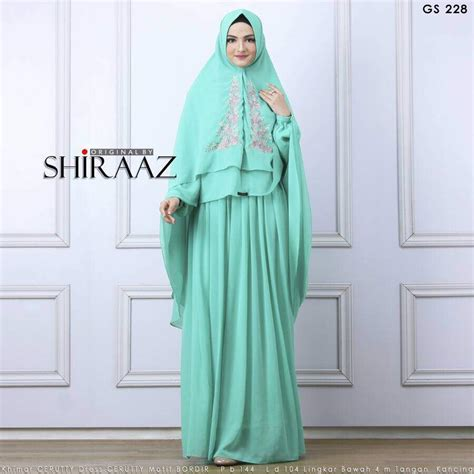Gamis Syari Gs 192 Ori By Shiraaz murah n ori collection gs 228 by shiraaz