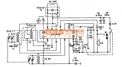 what is single integrated circuit uln3839a an am single chip audio integrated circuit lifier circuits audio lifier