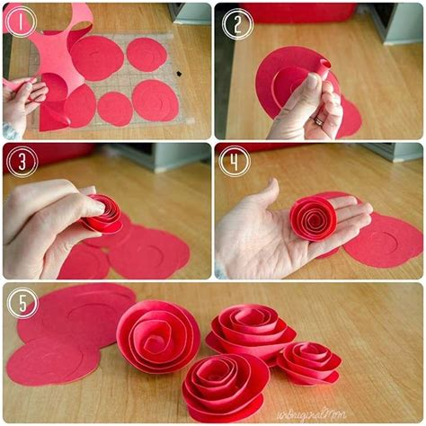 paper flower shadow box tutorial 25 best ideas about rolled paper flowers on pinterest