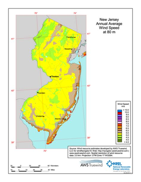 new jersey design wind speed map download free new jersey 80 meter wind energy maps charts