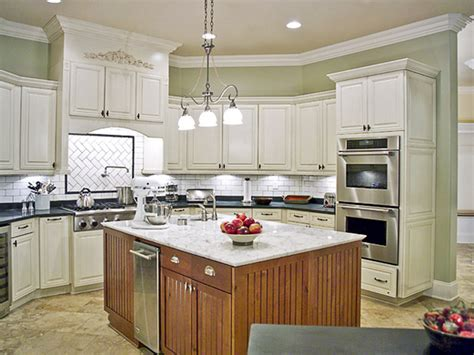 paint kitchen cabinets with colors of your style and taste