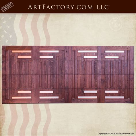 wood roll up garage doors solid wood roll up garage doors greene greene
