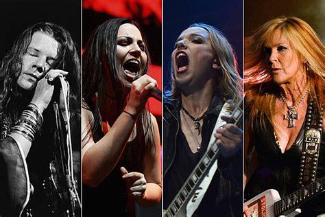 top  hard rock metal frontwomen   time