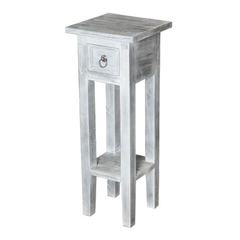 white wash end table sterling sutter end table in white wash 6500505