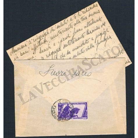 lettera testo storia postale regno lettera con testo da nusco per