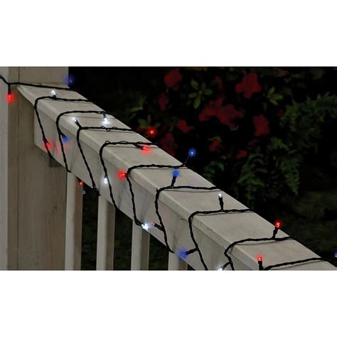 blue solar string lights white and blue solar string lights 136088 solar