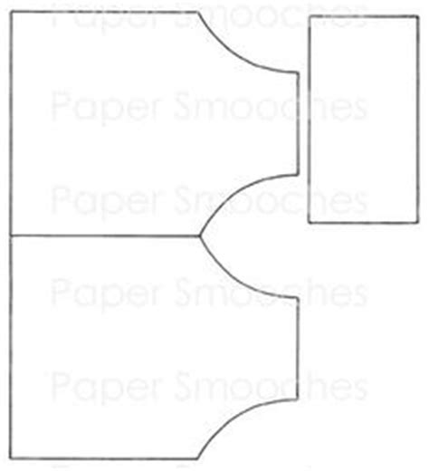 apron shaped card template money holder template just decorate it for