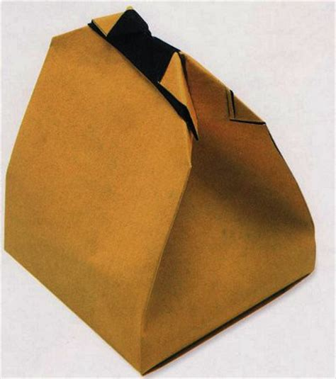 Origami Paper Bags - bag of gifts from the paper