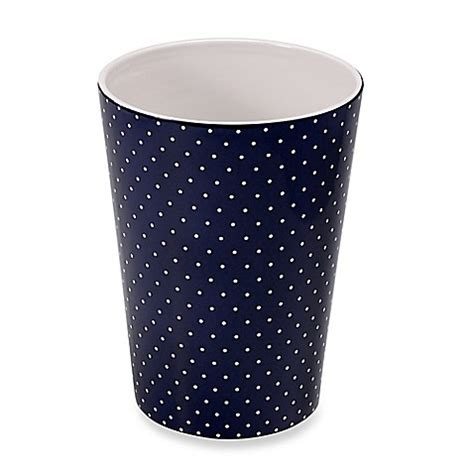Kate Spade Bathroom Accessories Kate Spade New York Willow Court Wastebasket Bed Bath Beyond
