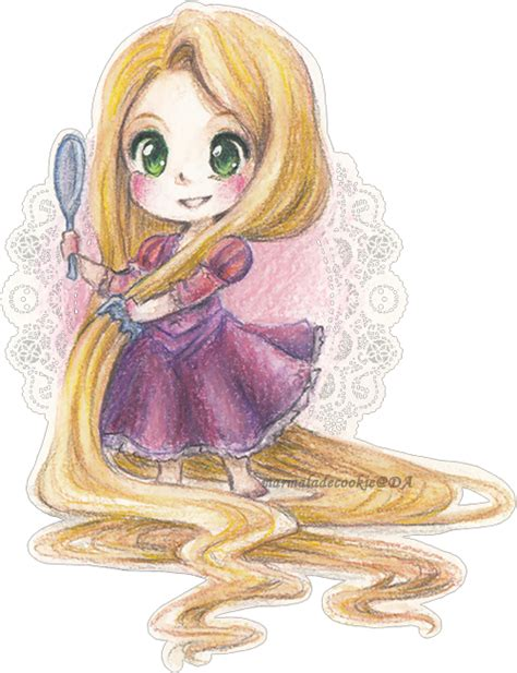 imagenes de rapunzel kawaii rapunzel by marmaladecookie on deviantart