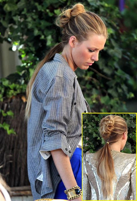 gossip girl hairstyles youtube what do you think of blake lively s on set serena van der