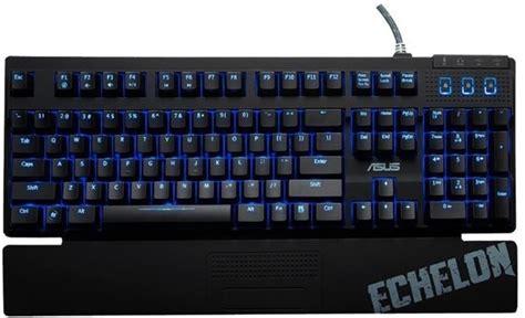 Keyboard Merk Asus asus echelon gaming keyboard specificaties tweakers