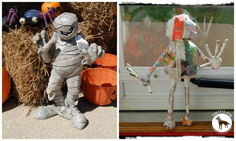 How To Make A Paper Mache Mummy - paper mache mummy nikitaland