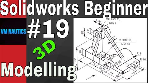 solidworks tutorial for beginners pdf solidworks tutorials beginners 3d 19 3d modelling youtube