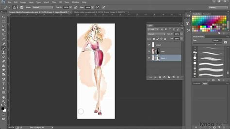 designing with photoshop photoshop fashion design tutorial how to create a