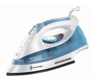 buy russell hobbs steamglide 15081 steam iron white