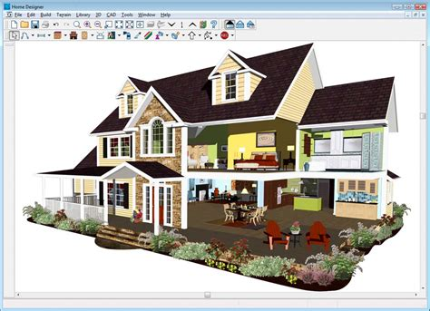 simple 3d house design software chief architect suite designer 2012 pc amazon co uk software