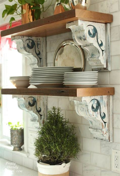 Farmhouse Corbels 30 Cheap And Creative Diy Home Decor Projects Using